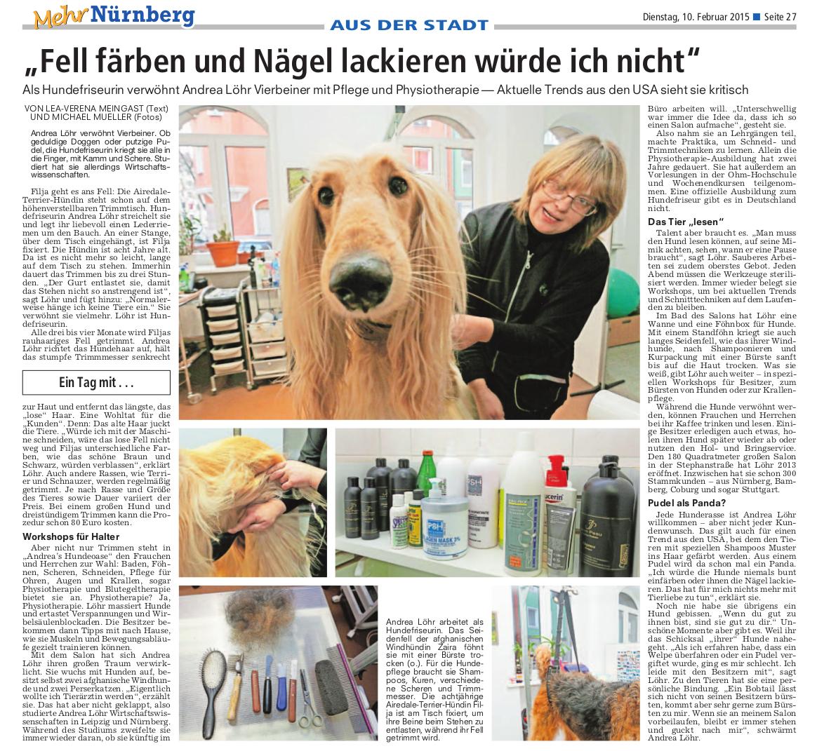 Andrea´s Hundeoase Nürnberg